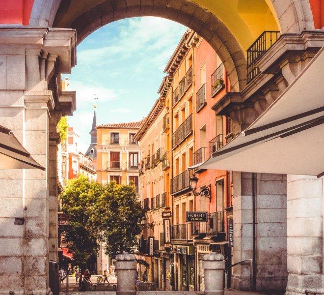 Viaje fin de estudios Madrid primaria