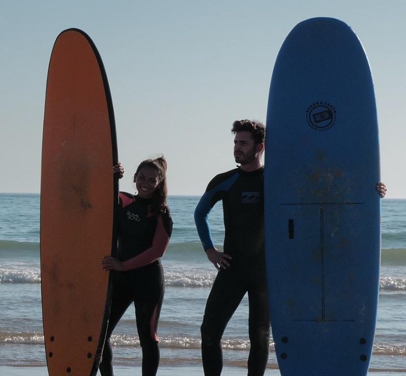 Surf estudiantes en Asturias 5 días